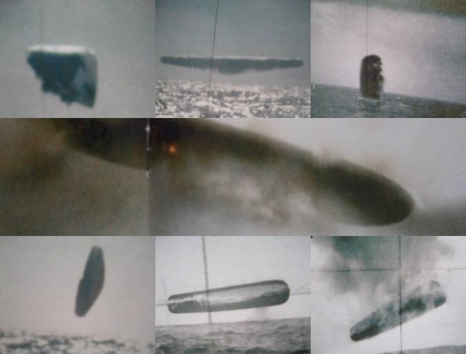 В интернет просочились засекреченные фотографии НЛО, снятые ВМС США.