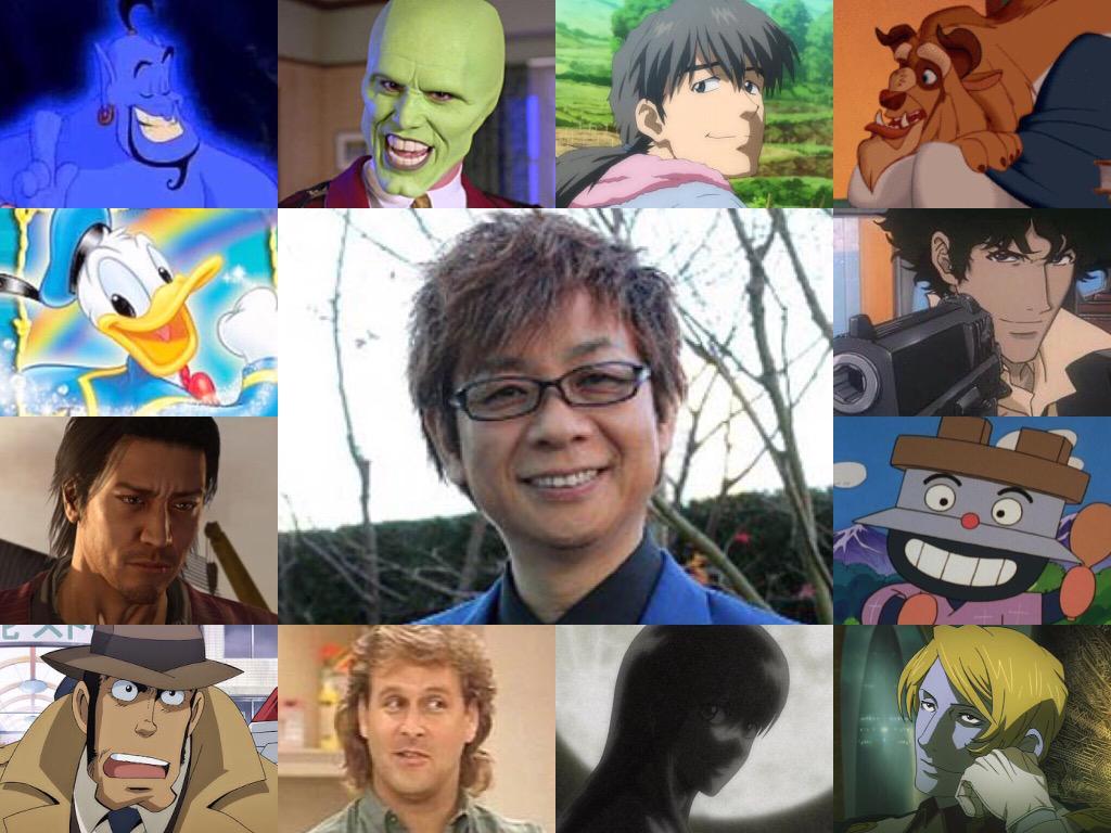 山寺宏一さんと土師孝也さんの演じられてるキャラメインで声真似しております今期は『ケイオスドラゴン』の阿ギトや『うしおとと
