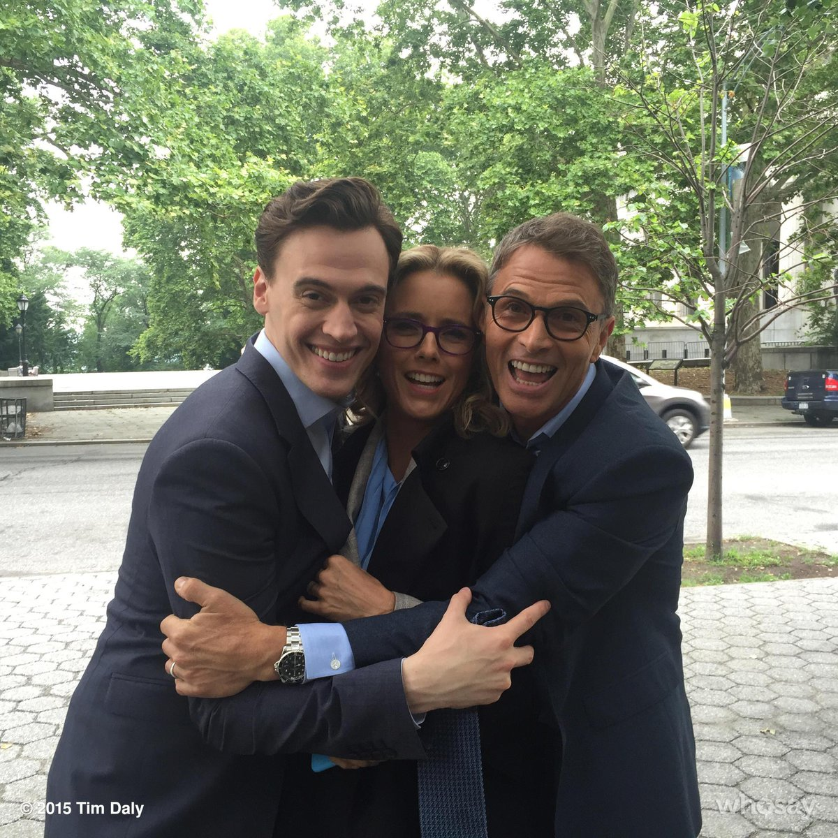 HUMANS!!! Look at the knuckleheads I found on the set of #MadamSecretary! Love these cooks. http://t.co/QYkl9bDy7W