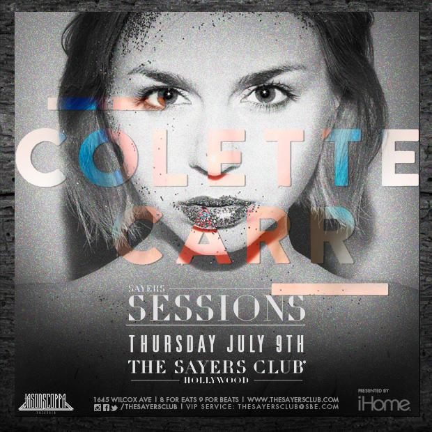 TONIGHT don't miss that talented and beautiful @ColetteCrazy at #TheSayersClub! Tickets at: http://t.co/hs9l7UoGZZ http://t.co/f9U8vThFWT