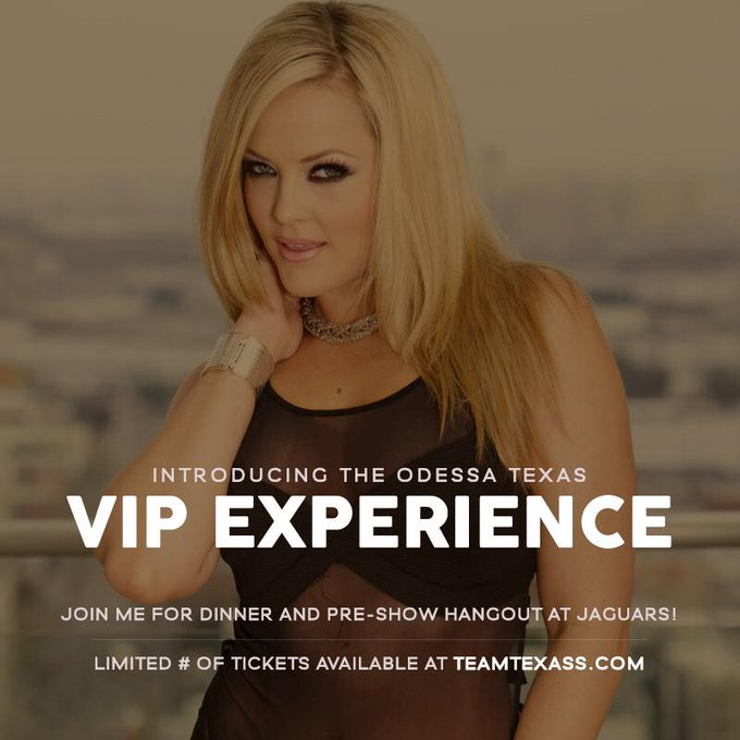 Attention Texas! Join me in #Odessa for a VIP Dinner + hangout! Limited tickets available | http://t