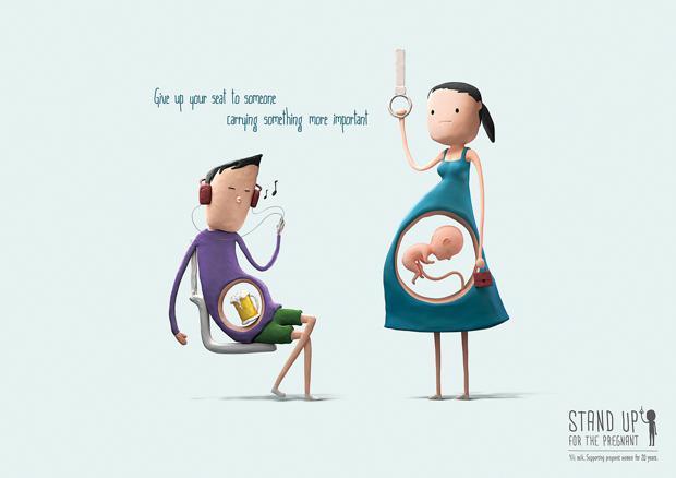 Una campanya gràfica per cedir el seient a les embarassades al #bus via @LaCriaturaCreat http://t.co/jeDbKVnkB1 http://t.co/6oUgJtT94B