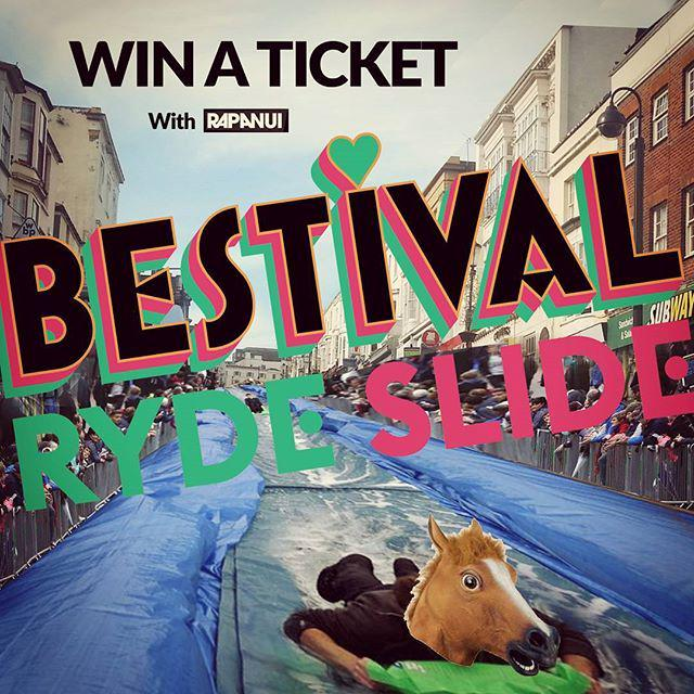 Rapanui / Bestival #rydeslide Ticket Giveaway! This Sunday the party animals at Bestival a… http://t.co/aCtcNJVT7N http://t.co/fF1IQBW84S