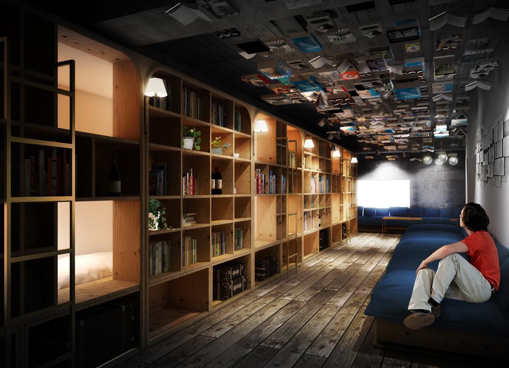 池袋に「泊まれる本屋」が誕生。大注目のホステル『BOOK AND BED TOKYO』。 http://t.co/ab3MGMvwwJ http://t.co/jwoufGTRHs