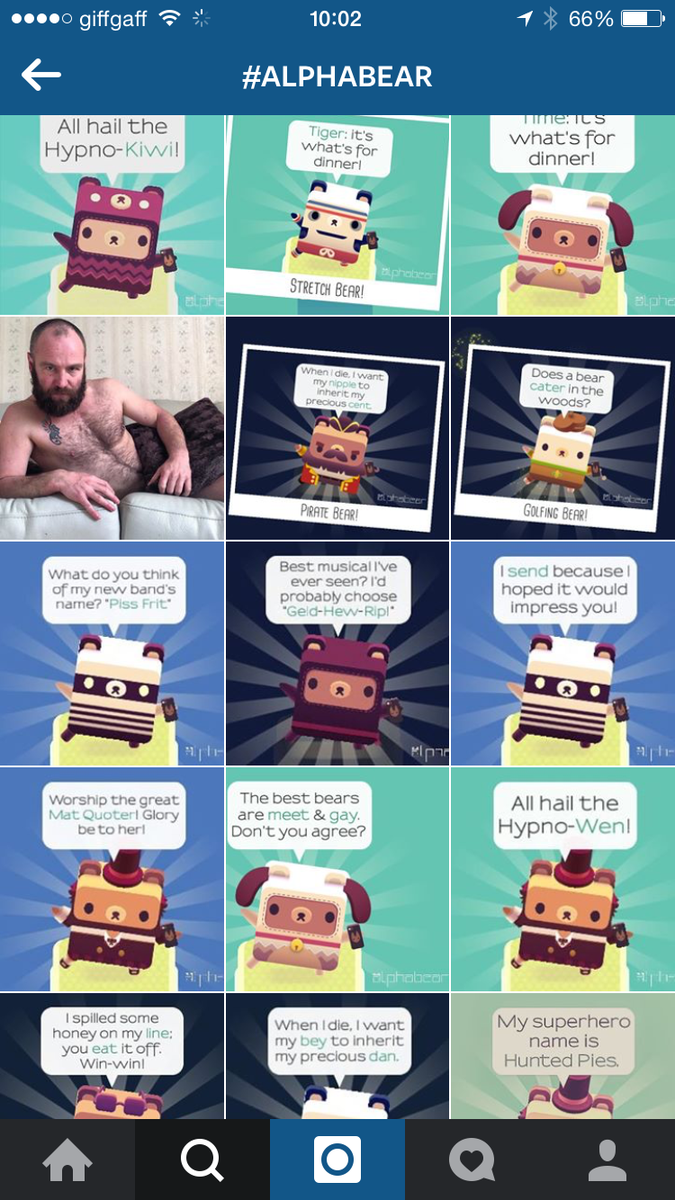 #alphabear on Instagram is a thing of beauty: http://t.co/vVZogwXe2d