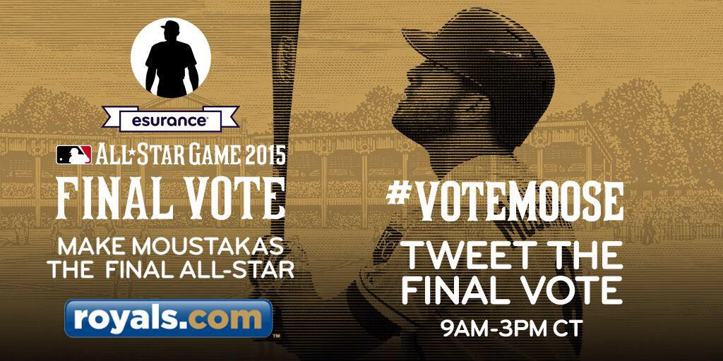 Today's agenda: #VoteMoose over and over until 3pm. Each tweet and RT counts as a vote. Let's do this #KC! http://t.co/QYYLUoLLAX