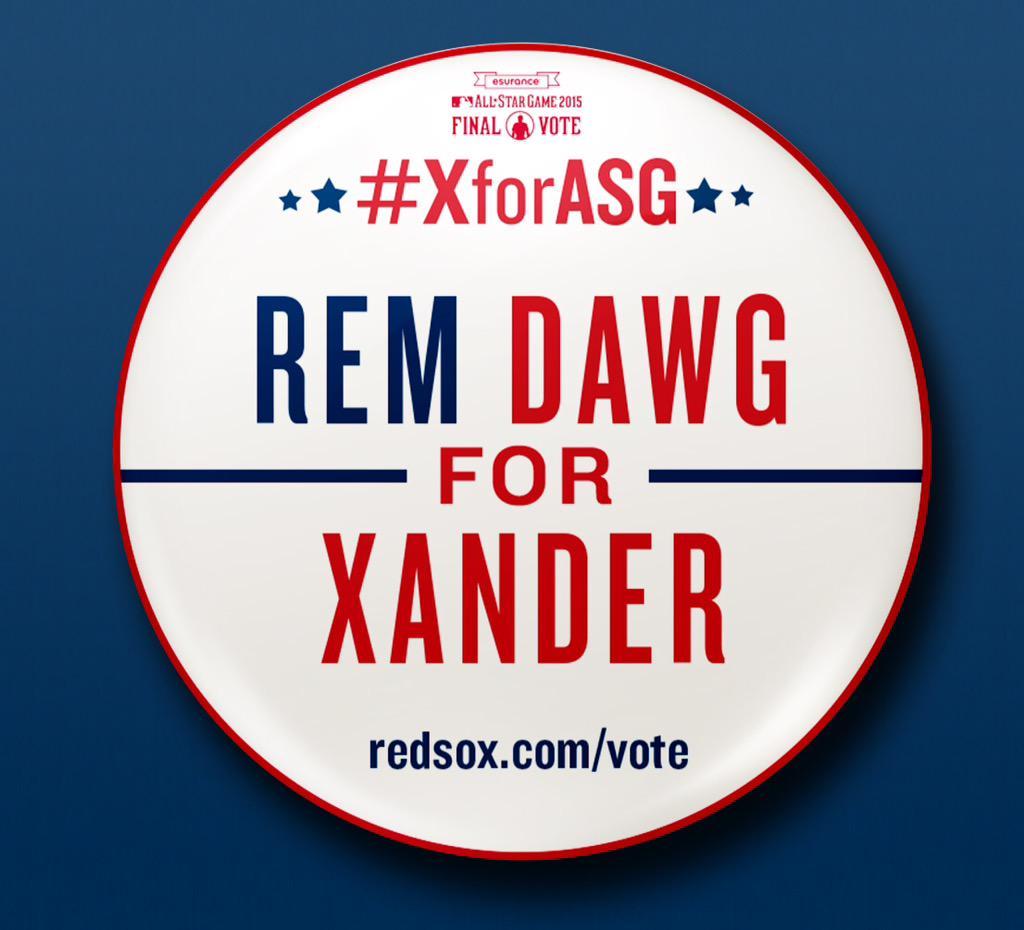 Retweet to get Xander to Cincinnati! #XforASG http://t.co/mUIoviFnRQ
