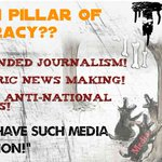 #Media420 Most of the Indian Media News Channels are: SOLD PAID BIASED CORRUPT & ANTI HINDU! Beware Indians!! http://t.co/iPEDsESzwW