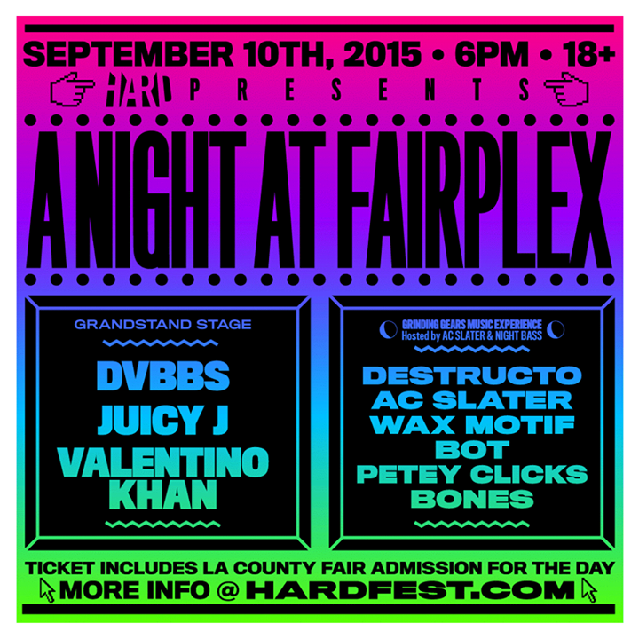 JUST ANNOUNCED: @HARDFEST x @nightbass take over @lacountyfair on SEPT 10!
