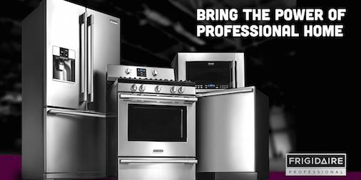 In the Charlotte area? Tune in to @WBTV_news at 7:40am to find out more about the Frigidaire Professional collection! http://t.co/M6QgWDrrzX