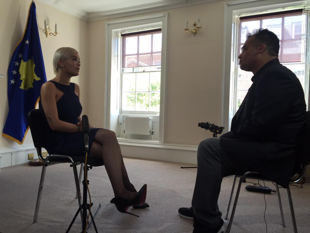 RT @bendepear: As she's made a Kosovan Ambassador @RitaOra talks to @krishgm about being Kosovan & British http://t.co/d0EFN7yxCi