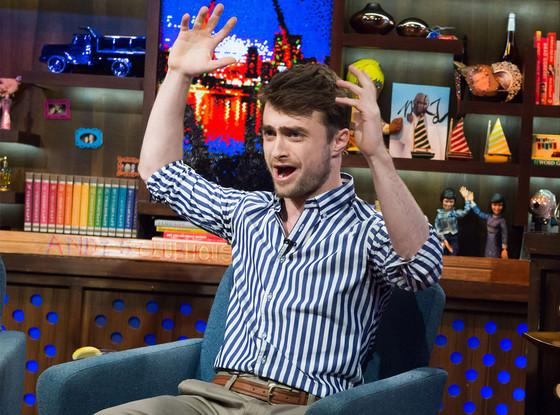 Daniel Radcliffe beat out Jamie Dornan to be named the
