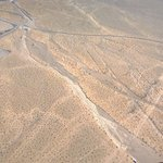 View from the air just outside Las Vegas. It is a desert remember! http://t.co/Wlh8jHcCVN