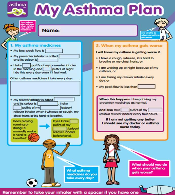 A written #asthma action plan is a good way to manage your child's health. @asthmauk http://t.co/bMxvdrEL3T http://t.co/rNISaia8kB