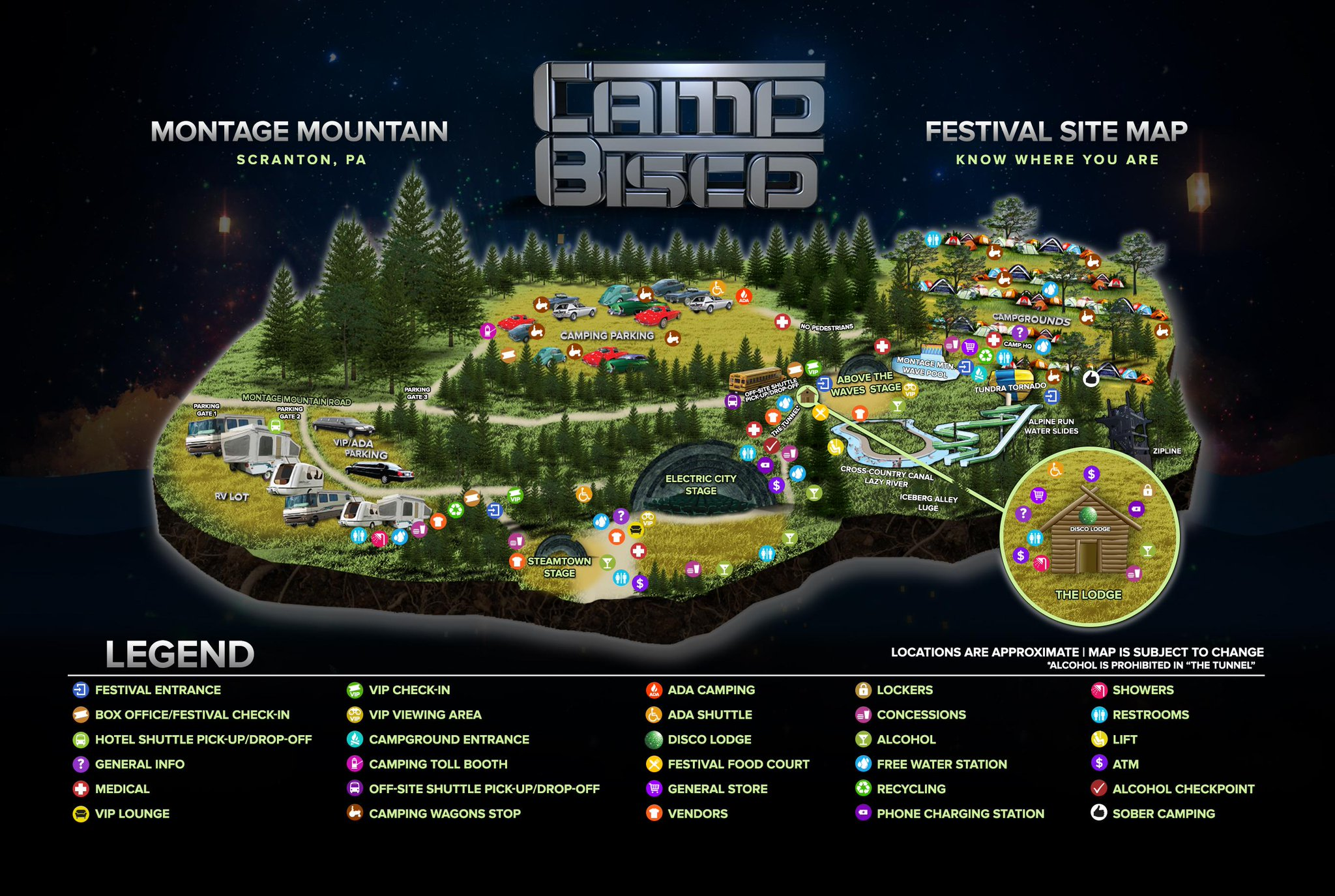 Camp Bisco 2015 | Lineup | Tickets | Prices | Dates | Schedule | Video | News | Rumors | Mobile App | New York | Hotels