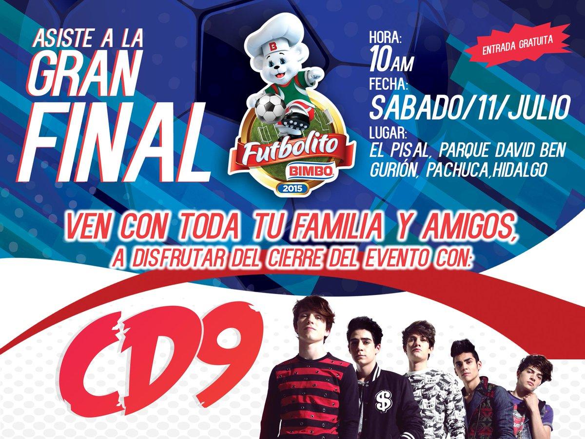 ¡Mañana es la gran final de #FutbolitoBimbo! RT si tú también asistirás. http://t.co/jRZ7a0z9pf