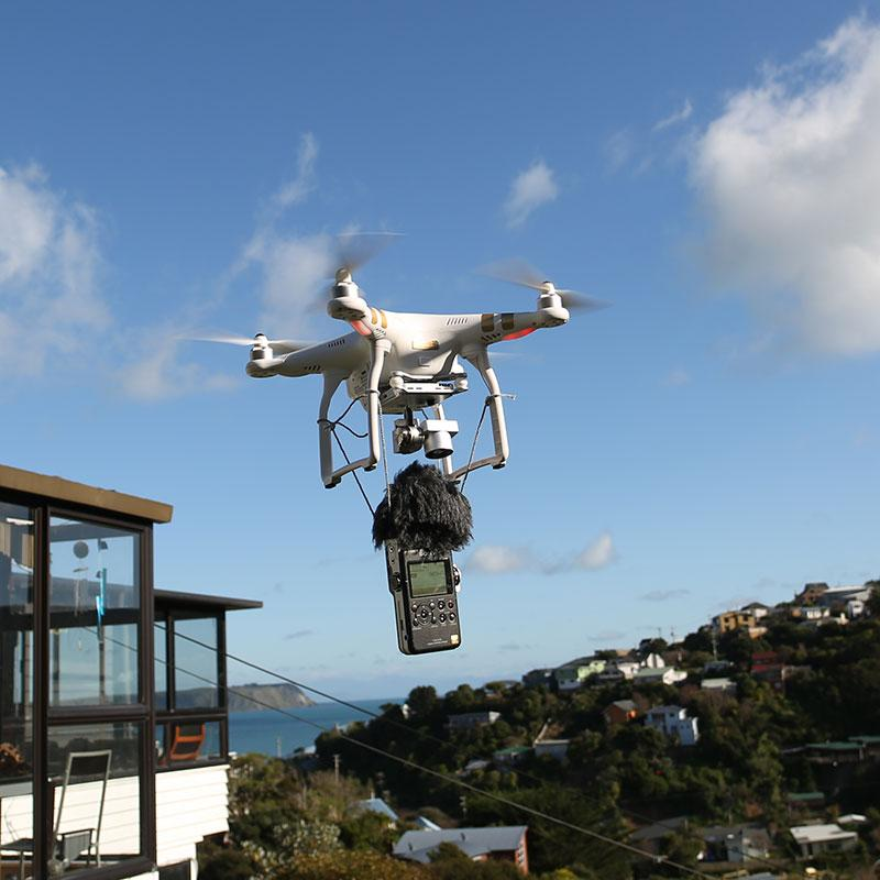 call me crazy, but…. it worked! #drone #fieldrecording http://t.co/NlfRNWRhCg