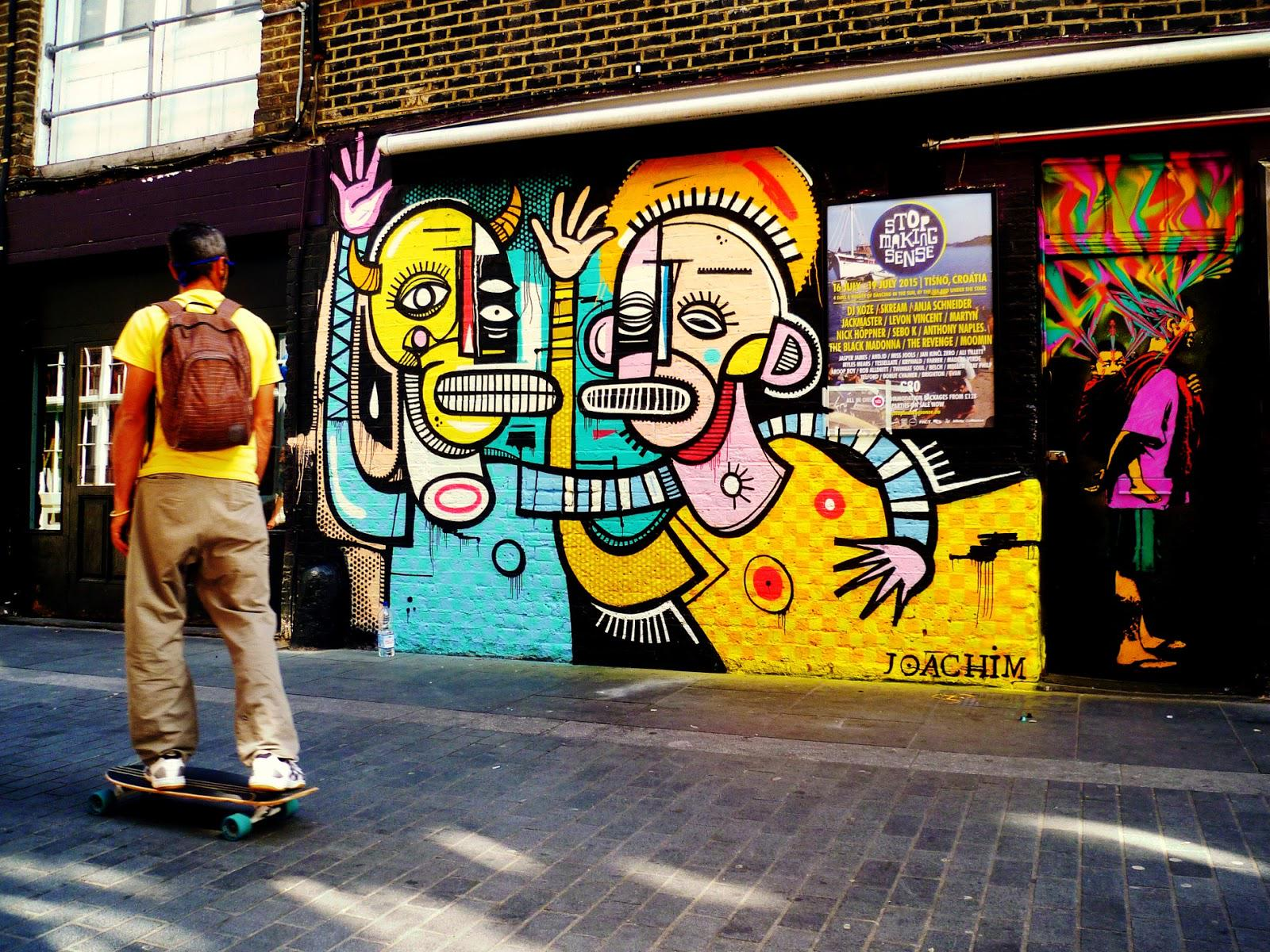 Joachim's incredible new piece in East London, UK. http://t.co/z6R0nflr8M