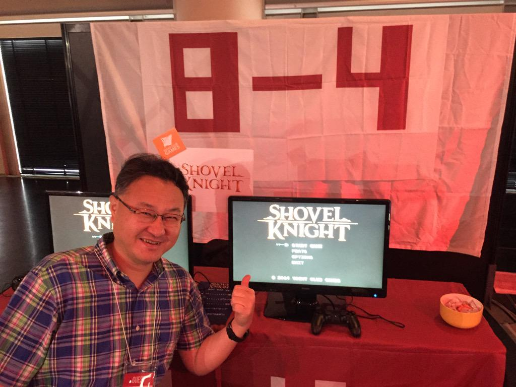 Attn @BitSummit: hit our booth for all the dirt on @YachtClubGames Shovel Knight coming to Japan! @yosp digs it! http://t.co/sflZZrWZBa
