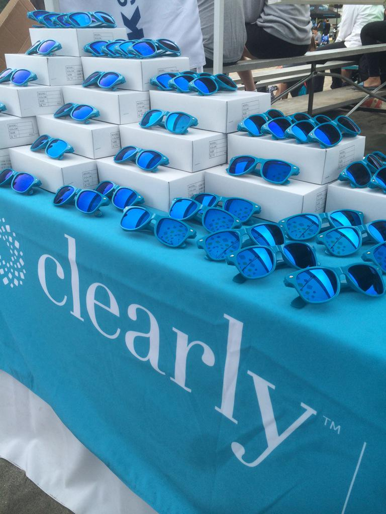 Come get your free sunglasses at our tent at the #ClearlyOpen volleyball tournament! http://t.co/VJKJ52mbEc