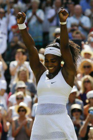 Serena Williams Defeats Garbine Muguruza for Sixth Wimbledon Title