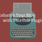 Enhance Your #WordPress Blog with This One Plugin http://t.co/ACM05k02Yk ^DJ http://t.co/jWaTWLgLbS