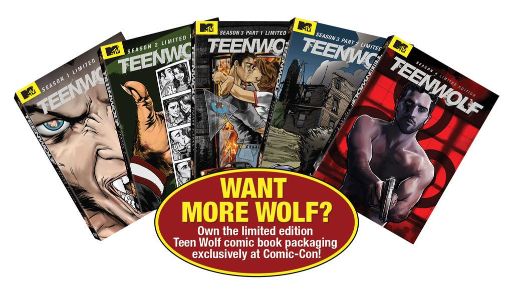 Headed to #SDCC? Stop by #Booth4229 to pick up the Limited Edition #TeenWolf Comic-Book packaging while supplies last http://t.co/WY5W4XuKVc