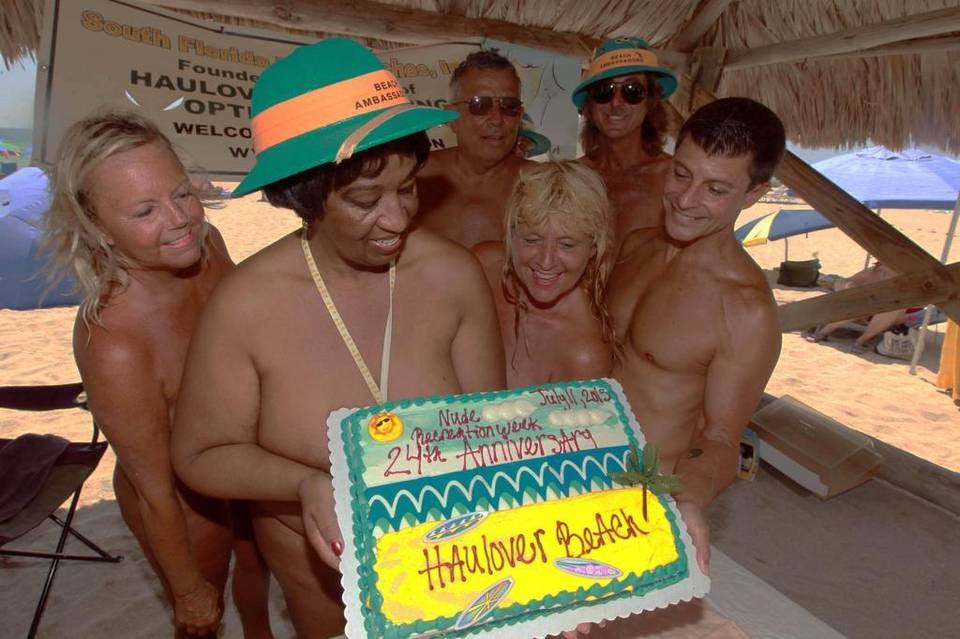 south florida s clothing optional nude beach at haulover celebrates 24 years