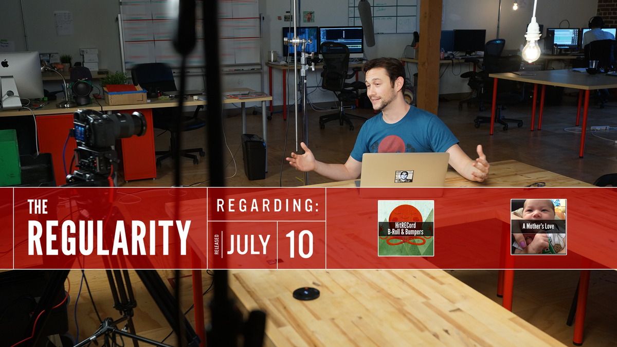 This is the #Regularity. I'll tell you some stuff that's going on @hitRECord this week -- http://t.co/3NyQvyWjMP http://t.co/qGKH2XIzBq