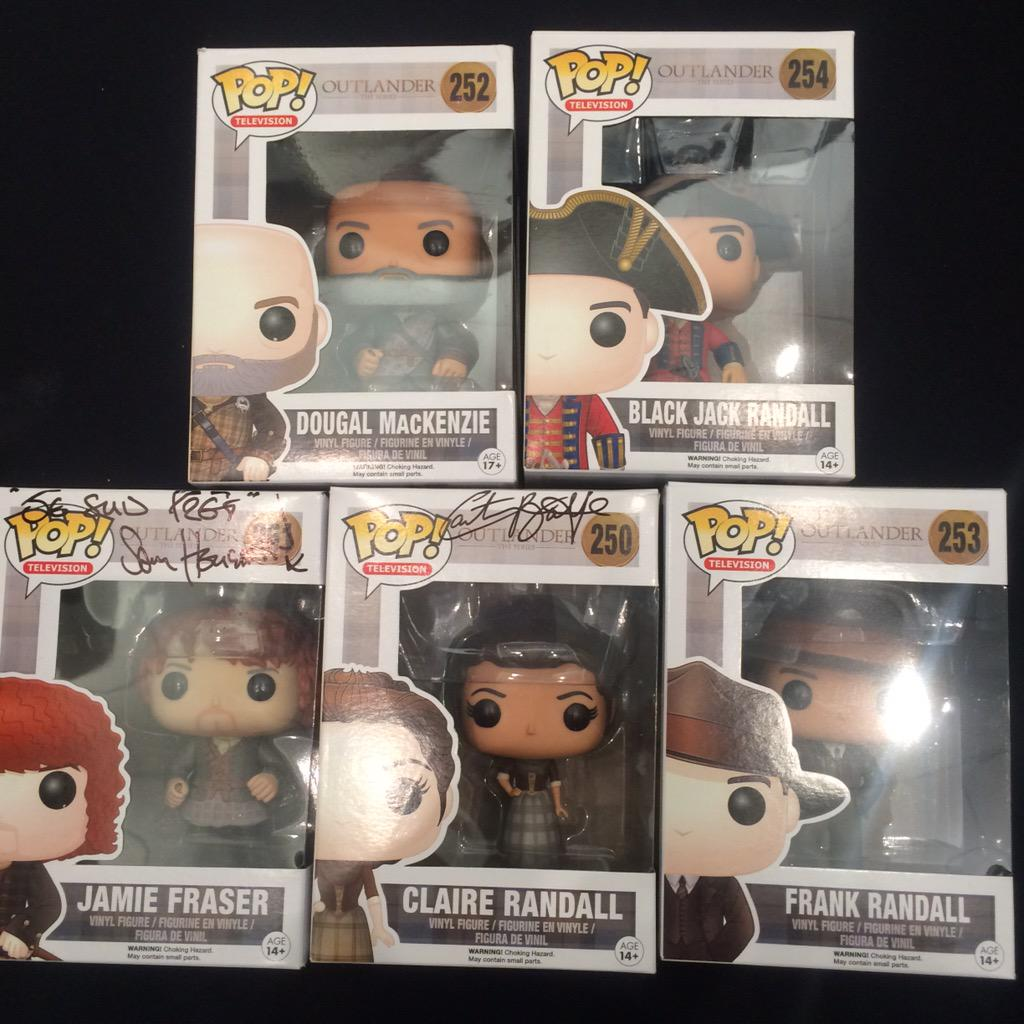 The hottest items at #SDCC: the only set of #Outlander #Funkos in existence. http://t.co/eyx8G1NSja