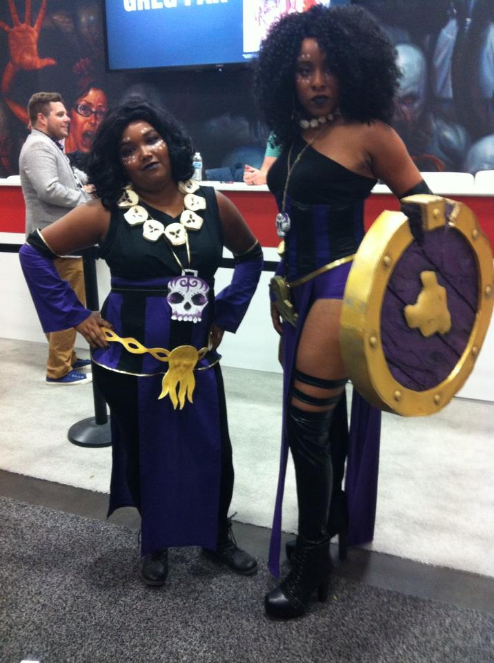 Two Dees! #SDCC #RatQueens http://t.co/xwssWeYz9M