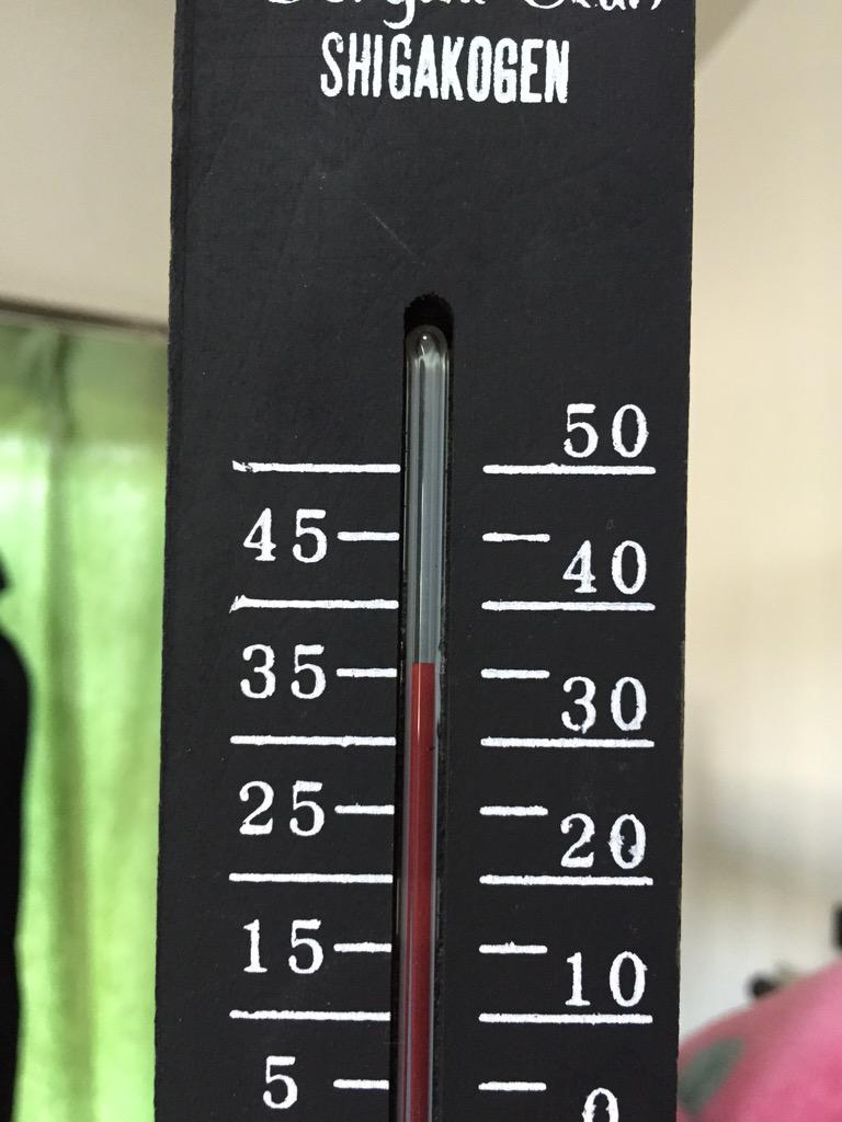 あらゆる家具が熱を放出しておる。4時半なんに。 http://t.co/bD7TpJgsX3