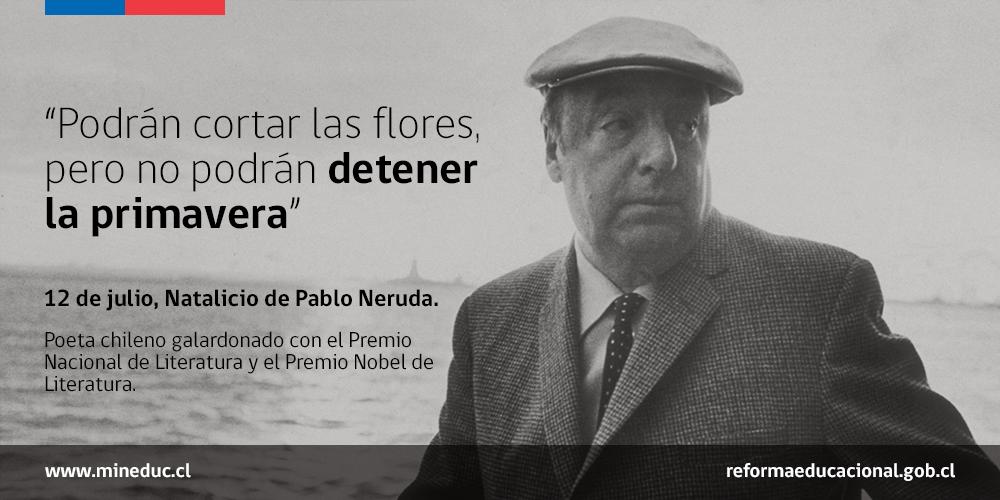 El 12 de julio de 1904 nació el gran poeta chileno Pablo Neruda http://t.co/KLfjHTzpdd