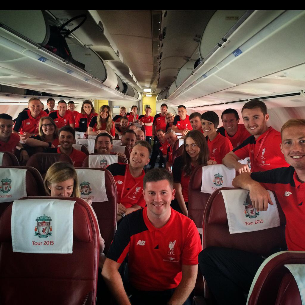 Ready for the off! #LFCTour2015 http://t.co/cPACNU3rgB