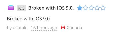 Folks, don't be jerks to developers when their apps are broken on beta OSes. Fix very soon, btw. http://t.co/7uxD55CTs0