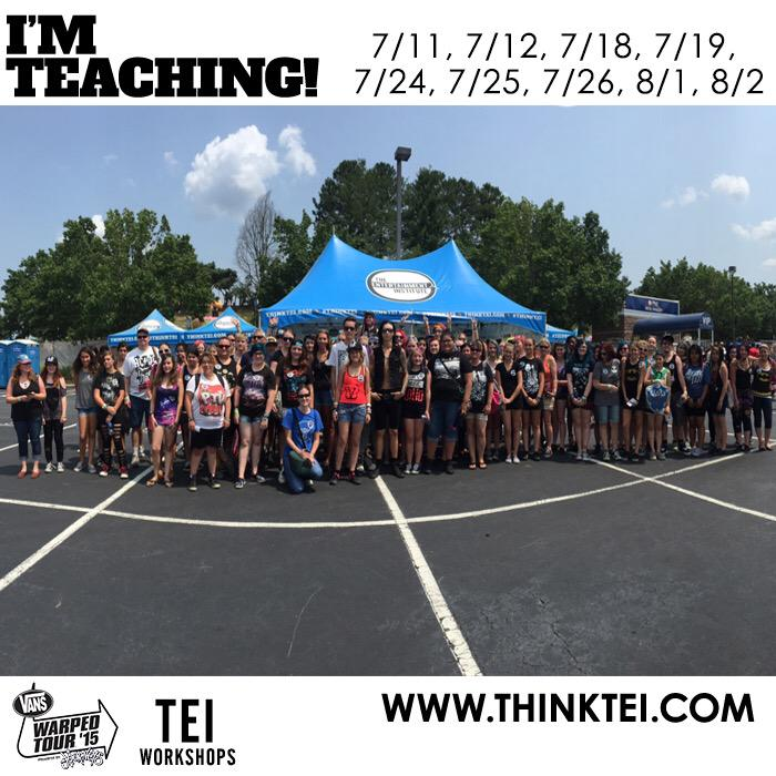 Good morning Hartford! I will be doing a TEI class at 12:30! Here's a photo from my Charlotte NC class! http://t.co/JtPvacRYMA