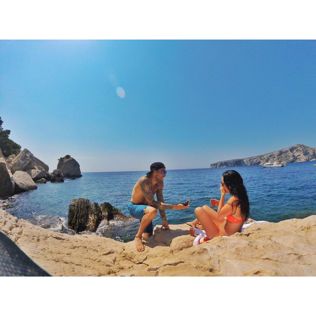 That moment your best friend becomes your fiancé. #GoPro #france @BriannaSaimoto http://t.co/Qfd0hdb1gP