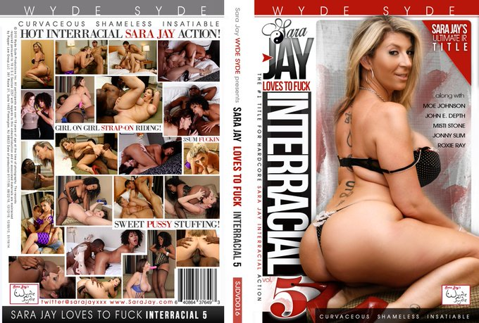 "1 pic. Get ""Sara Jay Loves To Fuck:Interracial""  vol 1-5 at http://t.co/Ugs9MG3ff8 #WydeSydeProduction"