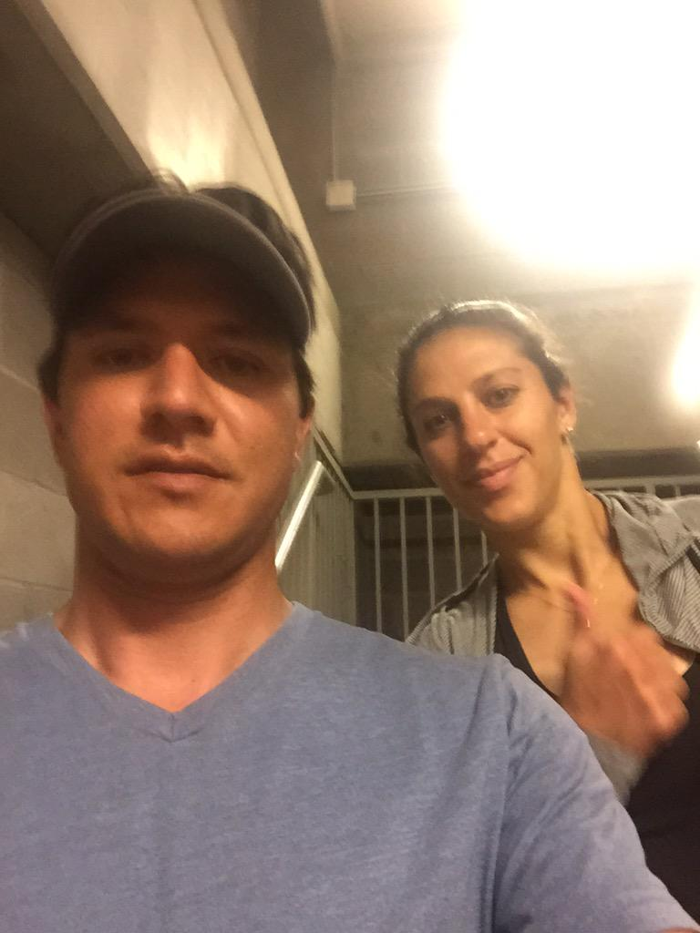 Who is excited to see this face.  @CarliLloyd at the @HoustonDash game tonight? http://t.co/APxbguRcGo