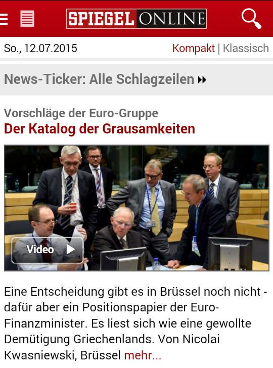 "Spiegel Online calls the Eurogroup document the ""catalogue of cruelties"". #ThisIsACoup http://t.co/vIC7UVC1fI"""