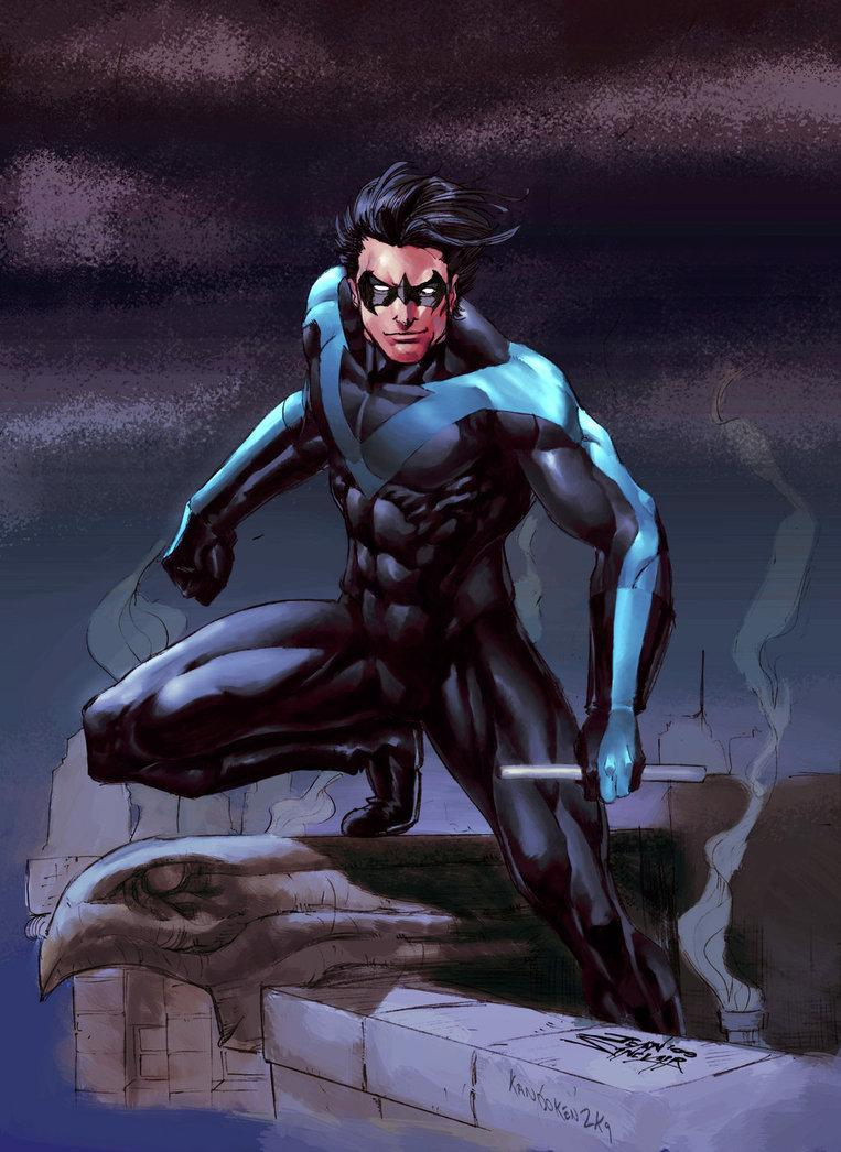 Oh, @MattBomer's favourite superhero is Nightwing.   MAKE IT HAPPENS, LORD OF THE GEEKS! http://t.co/9R4nu15FSi