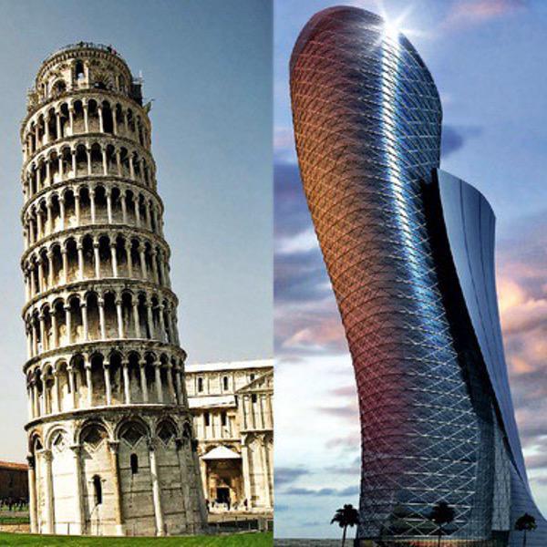 sabas que capital gate abu dhabi es el edificio ms inclinado del mundo