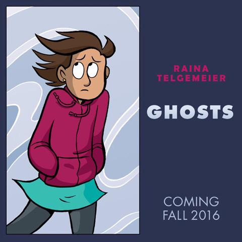 My next book will be published by @GraphixBooks in Fall 2016: GHOSTS! http://t.co/6xIt4o8EFV