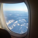 Landed in Christchurch after flying 21hrs from London, Its -4 deg celsius. Few pic of the mountains looked beautiful.