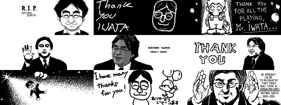 Collection of Iwata tribute posts from the Miiverse (via Neff on NeoGaf) #ThankYouMrIwata http://t.co/t3BgaiLQYC