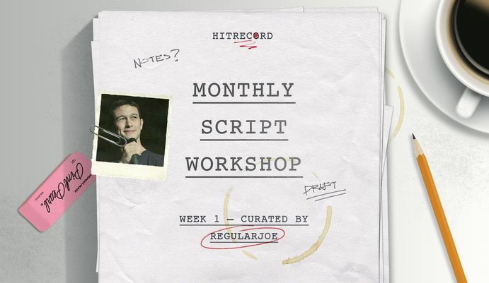 RT @hitRECord  Let's hear your ideas for a script. Contribute 'em here: http://t.co/506CTxLSbO #MonthlyScriptWorkshop http://t.co/jf6PCJBi1A