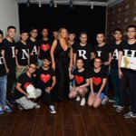 I love my #lambily - they flew all the way from China to be with me at my sold out show last night!! ❤️❤️❤