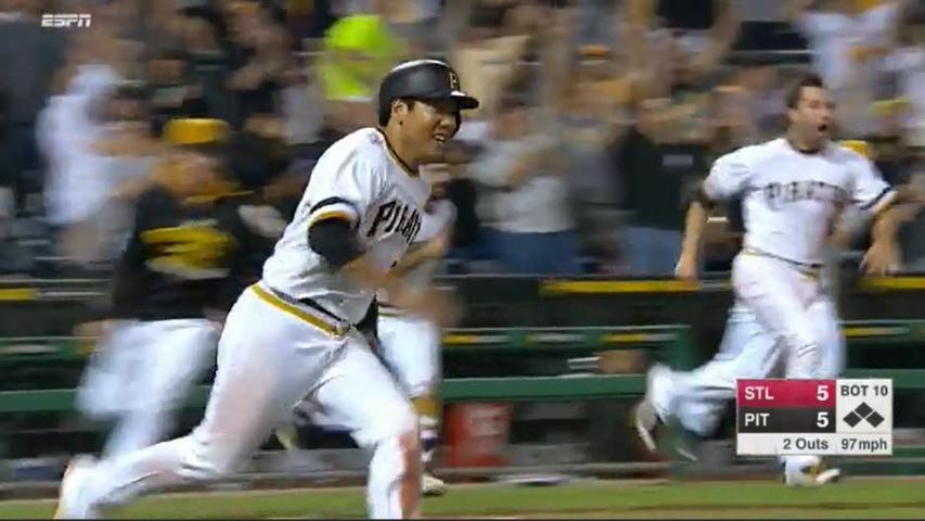 Radio Sync'd Highlight: Bucs Walk It Off Again vs. STL [7/12/15] w/ Greg Brown's call  WATCH: https://t.co/ooWRle42Bx http://t.co/obKXwWTZWj