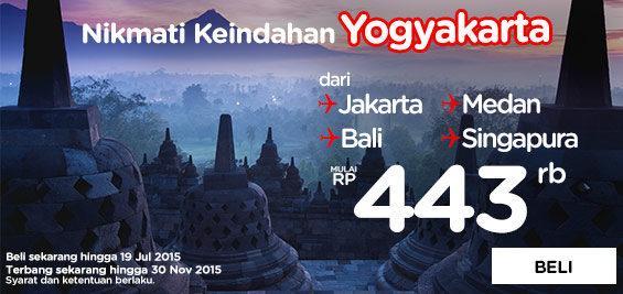 Lihat penawarannya di dan ayo terbang ke Yogya bersama AirAsia!