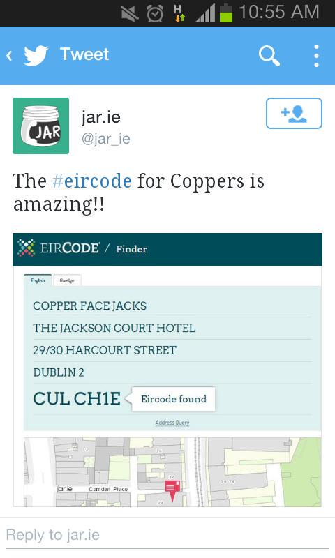 Now everyone will know where our headquarters are located #eircode http://t.co/DMU46WcpHV